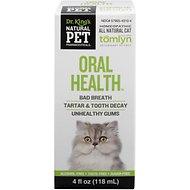 Tomlyn Natural Pet Pharmaceuticals Oral Health Homeopathic Water Additive for Cats, 4-oz bottle