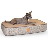 K&H Pet Products Superior Orthopedic Pet Bed, Mocha, Small