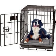 K&H Pet Products Self-Warming Pet Crate Pad, Gray, 37 x 54 in