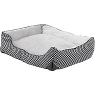 K&H Pet Products Self-Warming Lounge Sleeper Pet Bed, Black, Medium