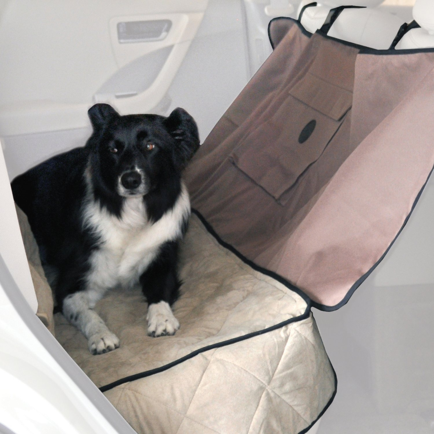 KH Pet Products Deluxe Car Seat Saver Tan