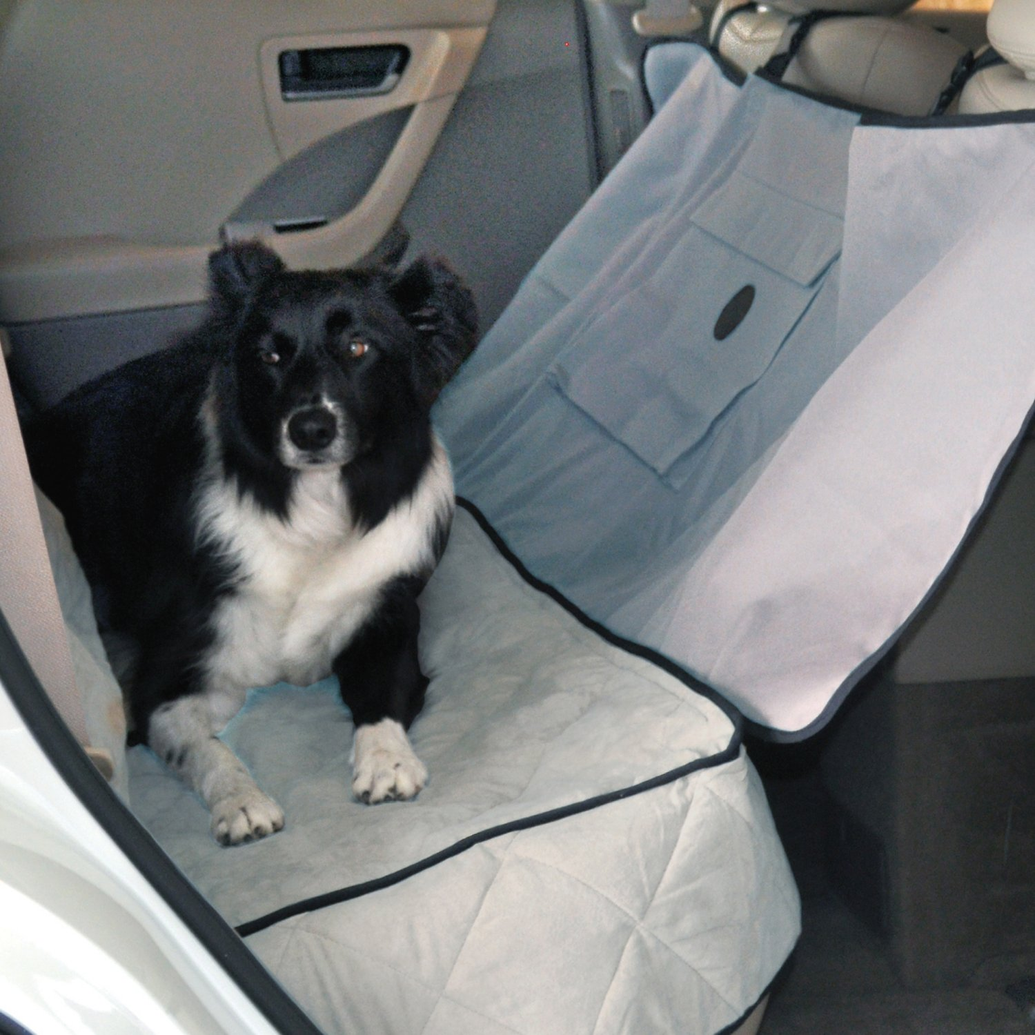 K&H Pet Products Deluxe Car Seat Saver, Gray - Chewy.com