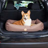 K&H Pet Products Travel & SUV Pet Bed, Tan, Small
