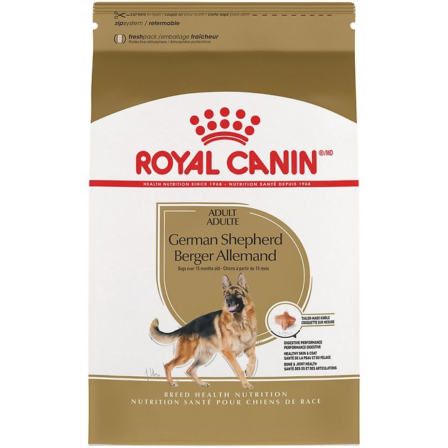Royal Canin German Shepherd Adult Dry Dog Food  Lb Bag