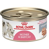 Royal Canin Mother & Babycat Ultra-Soft Mousse Canned Food for New Kittens, Nursing & Pregnant Mother Cats, 5.8-oz, case of 24