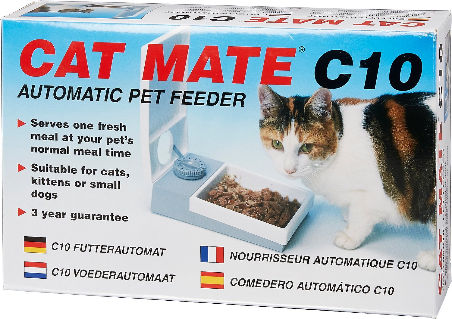 Cat Mate C Automatic Pet Feeder Instructions