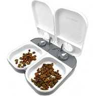 Cat Mate C200 2-Bowl Automatic Dog & Cat Feeder, 4-cup