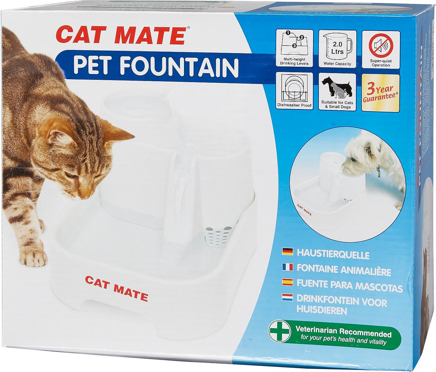 Cat Supplies Replacement Pump For Cat Mate And Dog Mate Pet Fountains