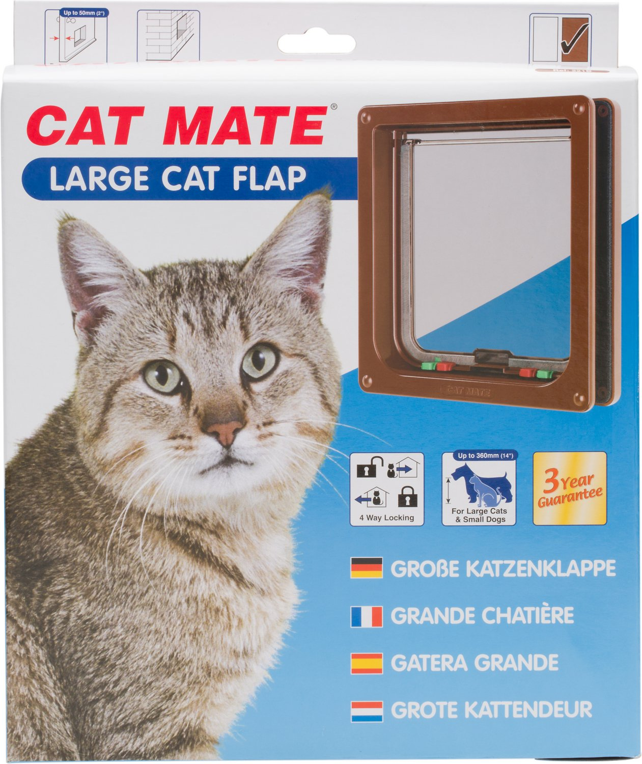 lock dp unbreakable pet doors way flap hefty com cat supplies products lexan with ideal kat door chubby x small amazon