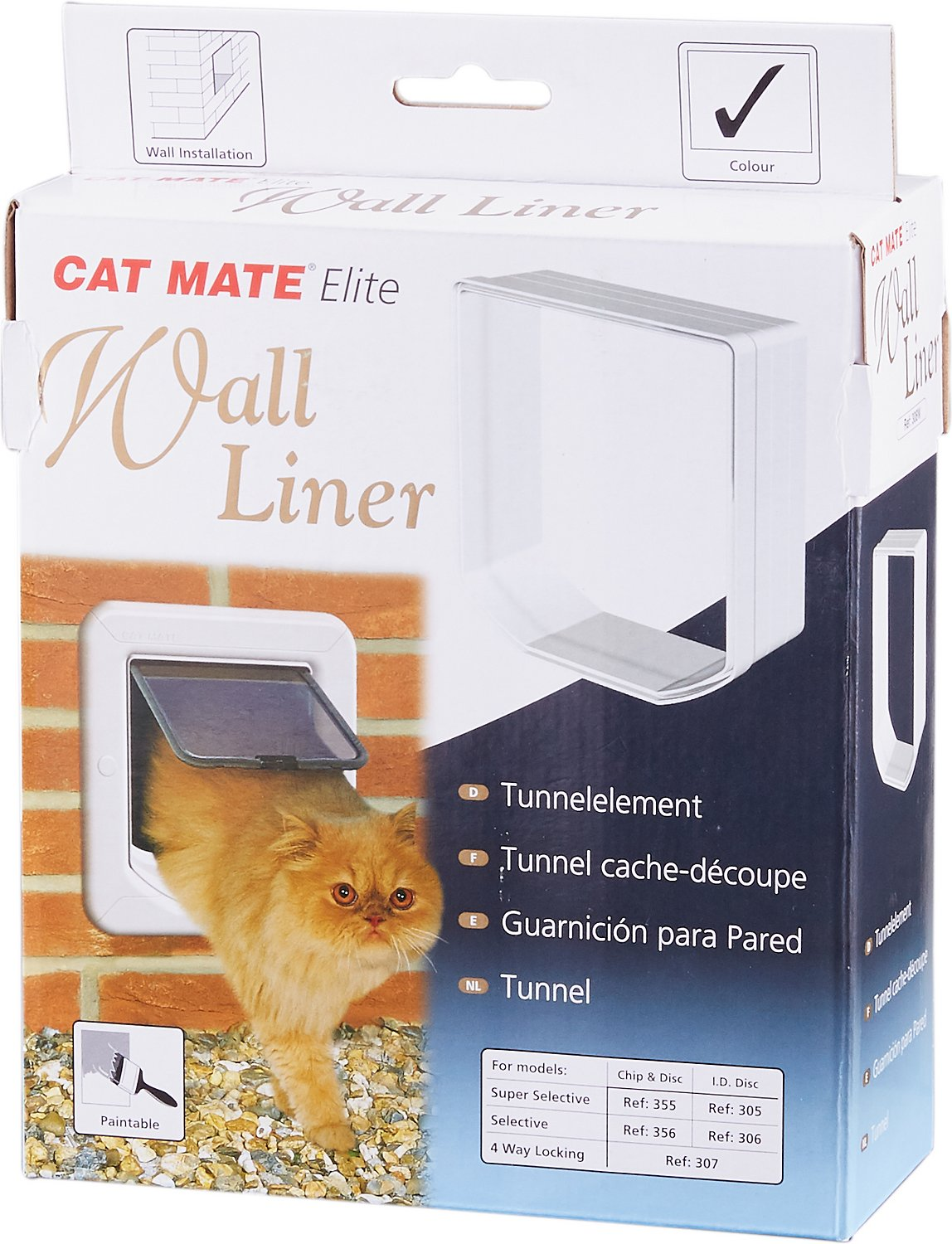 cat mate cat flap instructions