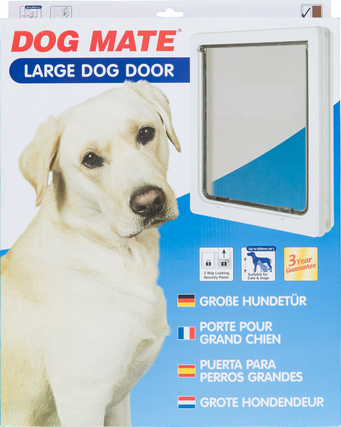 video  sc 1 st  Chewy.com & Dog Mate Dog Door Large - Chewy.com