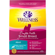 Wellness Small Breed Complete Health Adult Whitefish, Salmon Meal & Peas Recipe Dry Dog Food, 11-lb bag