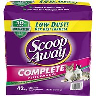 Scoop Away Complete Performance Scented Scoopable Cat Litter, 42-lb bag