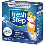 Fresh Step Extreme Odor Control Scented Cat Litter, 25-lb box