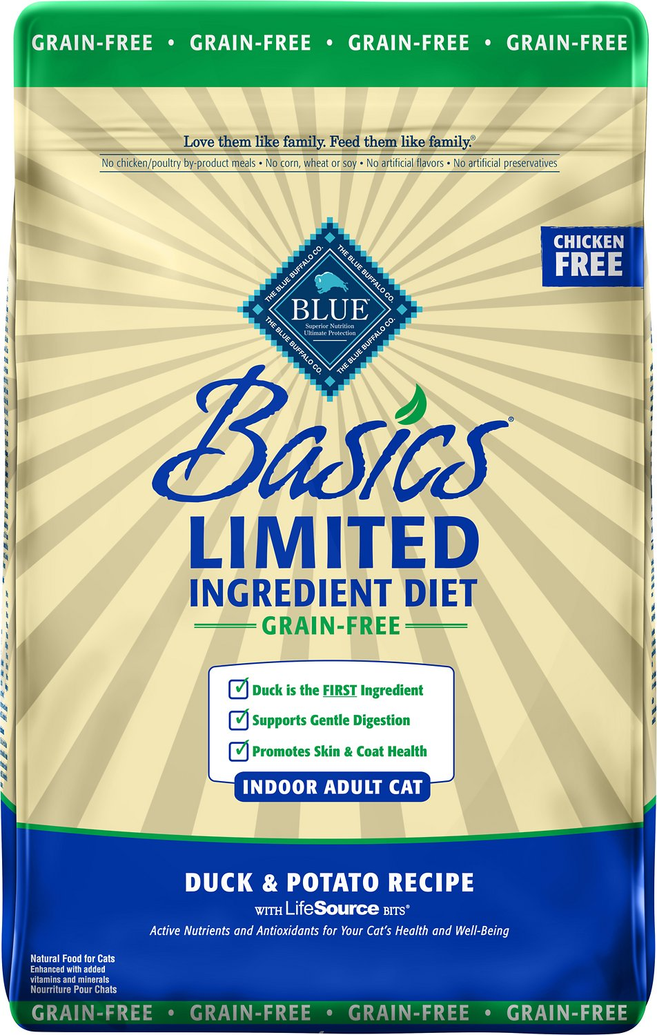 Blue Basics Cat Food Reviews