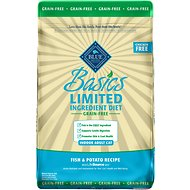 Blue Buffalo Basics Limited Ingredient Grain-Free Formula Fish & Potato Indoor Adult Dry Cat Food, 11-lb bag