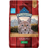 Blue Buffalo Wilderness Rocky Mountain Recipe with Red Meat Adult Grain-Free Dry Cat Food, 10-lb bag