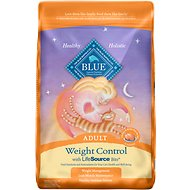 Blue Buffalo Weight Control Chicken & Brown Rice Recipe Adult Dry Cat Food, 15-lb bag