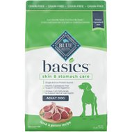 Blue Buffalo Basics Limited Ingredient Grain-Free Formula Lamb & Potato Recipe Adult Dry Dog Food, 22-lb bag