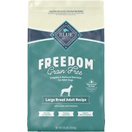Blue Buffalo Freedom Large Breed Adult Lamb Recipe Grain-Free Dry Dog Food, 24-lb bag
