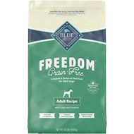 Blue Buffalo Freedom Adult Lamb Recipe Grain-Free Dry Dog Food, 24-lb bag