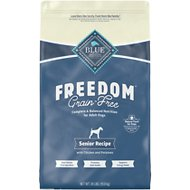 Blue Buffalo Freedom Senior Chicken Recipe Grain-Free Dry Dog Food, 24-lb bag