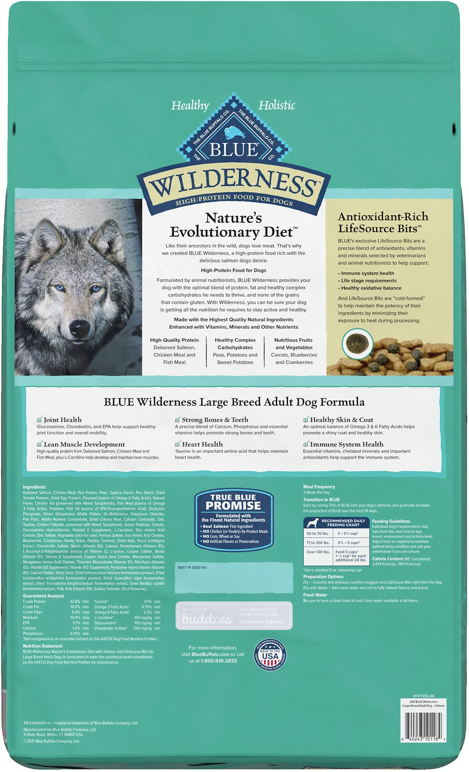 Blue Buffalo Large Breed Salmon Dog Food