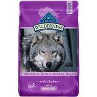 Blue Buffalo Wilderness Adult Small Bite Chicken Recipe Grain-Free Dry Dog Food, 11-lb bag