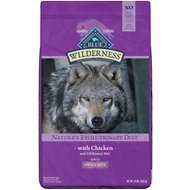 Blue Buffalo Wilderness Adult Small Bite Chicken Recipe Grain-Free Dry Dog Food, 24-lb bag