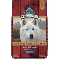 Blue Buffalo Wilderness Rocky Mountain Recipe with Red Meat Senior Grain-Free Dry Dog Food