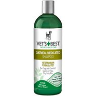 Vet's Best Oatmeal Medicated Dog Shampoo, 16-oz bottle