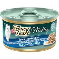 Fancy Feast Medleys Tuna Primavera Canned Cat Food, 3-oz, case of 24