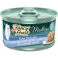 Fancy Feast Medleys Tuna Tuscany Canned Cat Food, 3-oz, case of 24