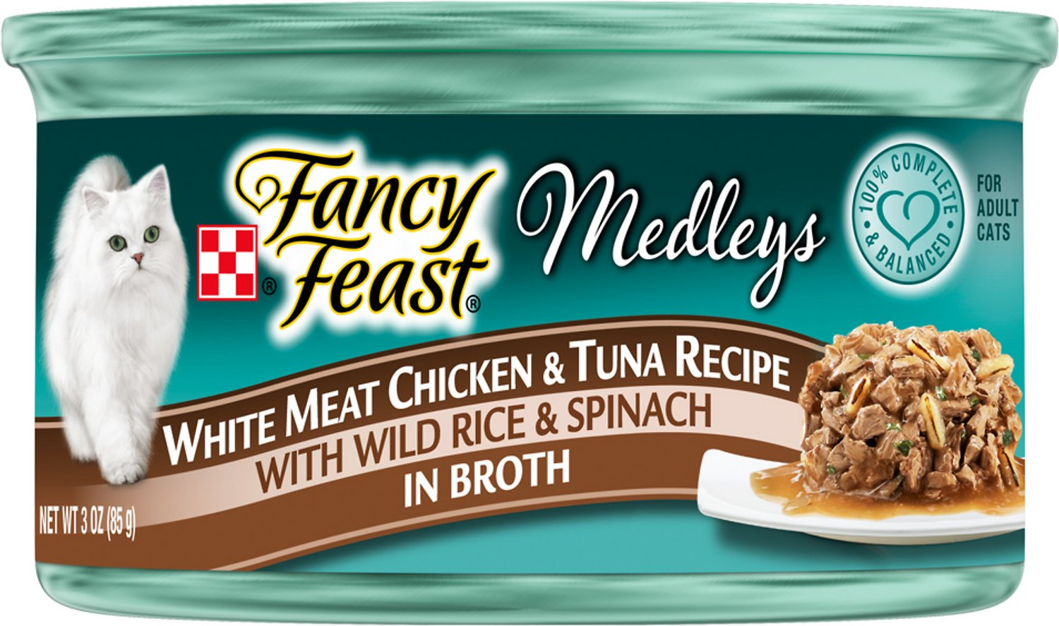 Fancy feast medleys tastemakers white meat chicken tuna recipe video forumfinder Image collections