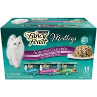 Fancy Feast Medleys Florentine Collection Pack Canned Cat Food, 3-oz, case of 18