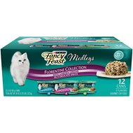 Fancy Feast Medleys Florentine Collection Pack Canned Cat Food, 3-oz, case of 12