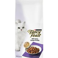 Fancy Feast Gourmet Savory Chicken & Turkey Dry Cat Food, 7-lb bag