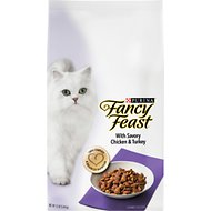 Fancy Feast Gourmet Savory Chicken & Turkey Dry Cat Food, 12-lb bag