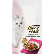 Fancy Feast Gourmet Filet Mignon Flavor with Real Seafood & Shrimp Dry Cat Food, 12-lb bag