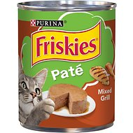 Friskies Classic Pate Mixed Grill Canned Cat Food, 13-oz, case of 12