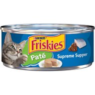 Friskies Classic Pate Supreme Supper Canned Cat Food, 5.5-oz, case of 24