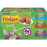 Friskies Classic Pate Variety Pack Canned Cat Food, 5.5-oz, case of 24