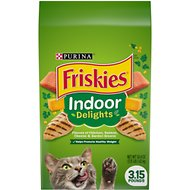 Friskies Indoor Delights Dry Cat Food, 3.15-lb bag