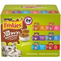 Friskies Gravy Sensations Pouch Favorites Cat Food Pouches