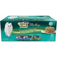Fancy Feast Medleys Primavera Collection Variety Pack Canned Cat Food, 3-oz, case of 12
