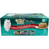 Fancy Feast Medleys Tuscany Collection Pack Canned Cat Food, 3-oz, case of 12