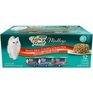 Fancy Feast Medleys White Meat Chicken Recipe Variety Collection Pack Canned Cat Food