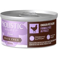 Holistic Select Chicken Pate Recipe Grain-Free Canned Cat & Kitten Food, 3-oz, case of 24
