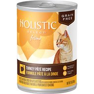 Holistic Select Turkey Pate Recipe Grain-Free Canned Cat & Kitten Food, 13-oz, case of 12