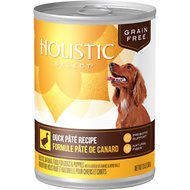 Holistic Select Duck Pate Recipe Grain-Free Canned Dog Food, 13-oz, case of 12